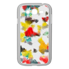 Colorful paint stokes     Samsung GALAXY S4 I9500/ I9505 Case (White)