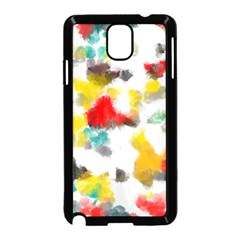 Colorful paint stokes     Samsung Galaxy S5 Back Case (White)