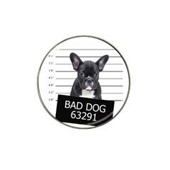 Bad dog Hat Clip Ball Marker
