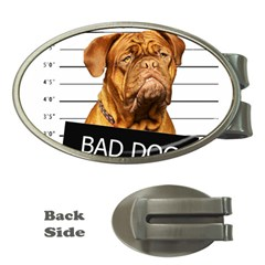 Bad dog Money Clips (Oval)