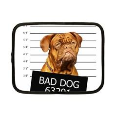 Bad dog Netbook Case (Small)
