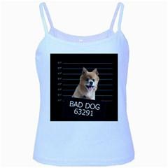 Bad dog Baby Blue Spaghetti Tank