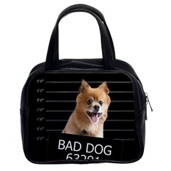 Bad dog Classic Handbags (2 Sides)