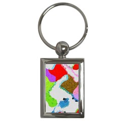 Painted shapes            Key Chain (Rectangle)