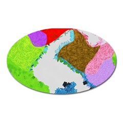 Painted shapes            Magnet (Oval)