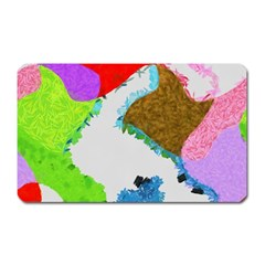 Painted shapes            Magnet (Rectangular)