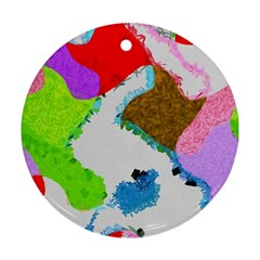 Painted Shapes            Ornament (round)