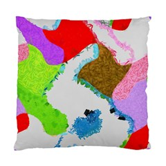 Painted shapes      Standard Cushion Case (Two Sides)