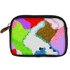 Painted shapes       Digital Camera Leather Case