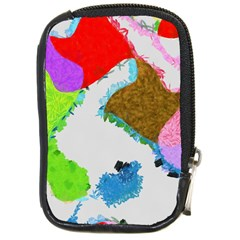 Painted shapes            Compact Camera Leather Case