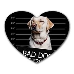 Bad dog Heart Mousepads