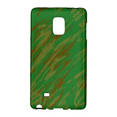 Brown green texture       Samsung Galaxy Note 4 Leather Folio