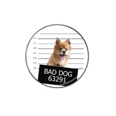 Bad dog Hat Clip Ball Marker (10 pack)