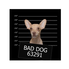 Bad dog Small Satin Scarf (Square)