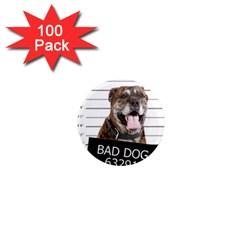Bad dog 1  Mini Magnets (100 pack)