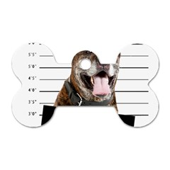Bad dog Dog Tag Bone (Two Sides)