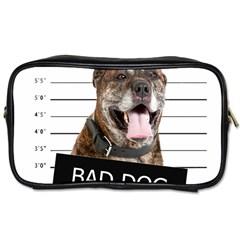 Bad dog Toiletries Bags 2-Side