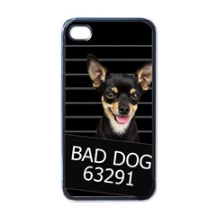 Bad Dog Apple Iphone 4 Case (black)