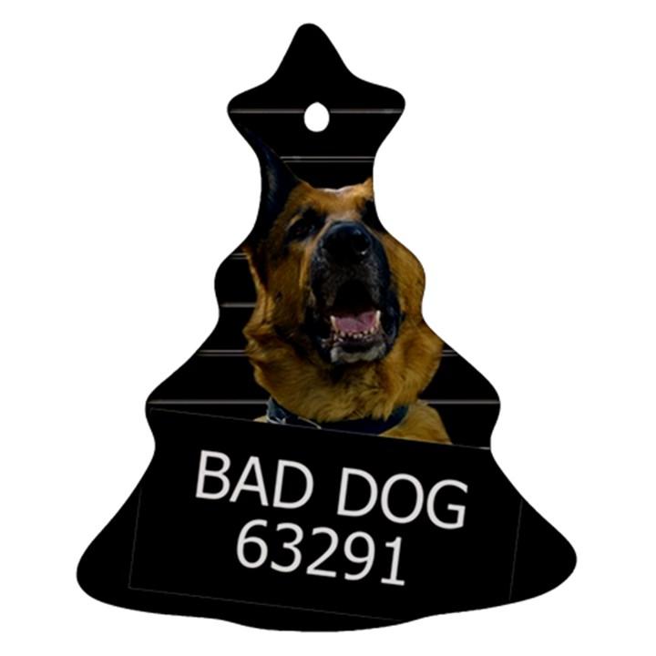 Bad dog Ornament (Christmas Tree)