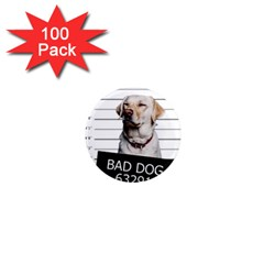 Bad dog 1  Mini Magnets (100 pack)