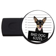 Bad dog USB Flash Drive Round (1 GB)