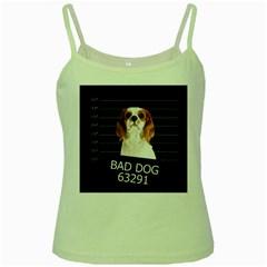 Bad dog Green Spaghetti Tank