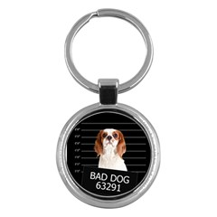 Bad dog Key Chains (Round)