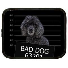 Bad dog Netbook Case (XL)