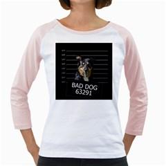 Bad dog Girly Raglans