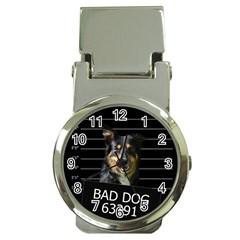 Bad dog Money Clip Watches