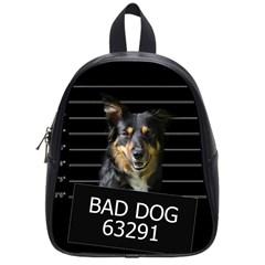 Bad dog School Bags (Small)