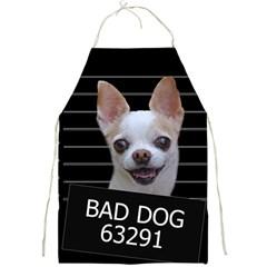 Bad dog Full Print Aprons