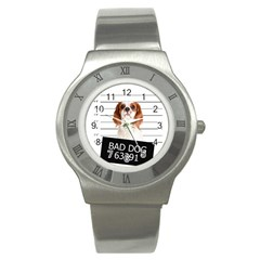 Bad dog Stainless Steel Watch