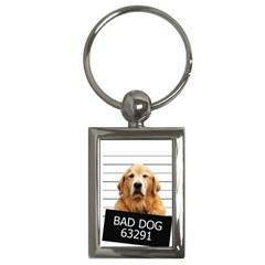 Bad dog Key Chains (Rectangle)
