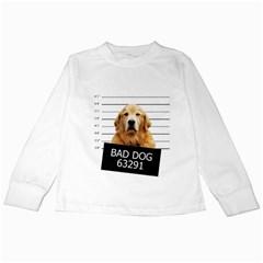 Bad dog Kids Long Sleeve T-Shirts