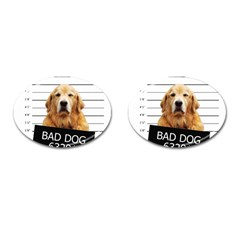 Bad dog Cufflinks (Oval)