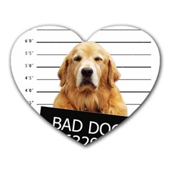 Bad dog Heart Mousepads