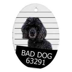 Bad dog Ornament (Oval)