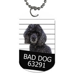Bad Dog Dog Tag (two Sides)