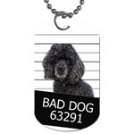 Bad dog Dog Tag (Two Sides) Back