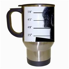Bad dog Travel Mugs (White)