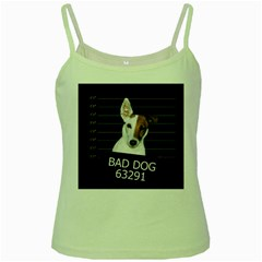 Bad dog Green Spaghetti Tank