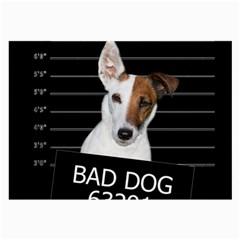 Bad dog Large Glasses Cloth