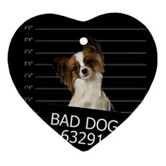 Bad dog Ornament (Heart)