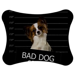 Bad dog Jigsaw Puzzle Photo Stand (Bow)