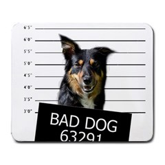 Bad dog Large Mousepads