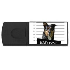 Bad dog USB Flash Drive Rectangular (1 GB)