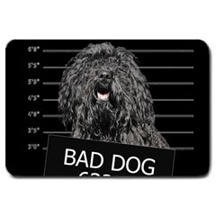 Bad dog Large Doormat