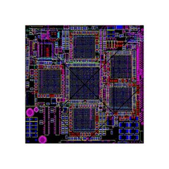 Cad Technology Circuit Board Layout Pattern Acrylic Tangram Puzzle (4  x 4 )