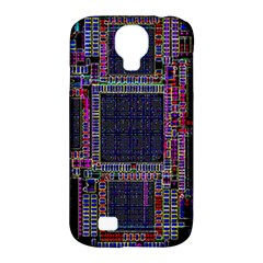 Cad Technology Circuit Board Layout Pattern Samsung Galaxy S4 Classic Hardshell Case (PC+Silicone)
